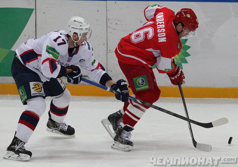 «Спартак» vs «Торпедо» 1:2 чемпионат КХЛ 2013-2014 (Фото)