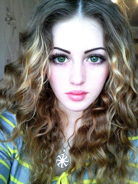 Девушка с большими глазами фото 385-746