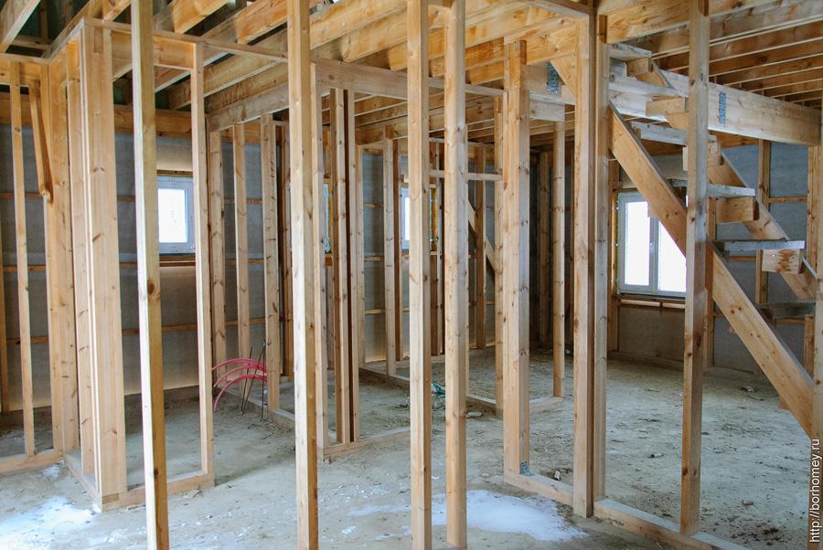 деревянные перекрытия дома