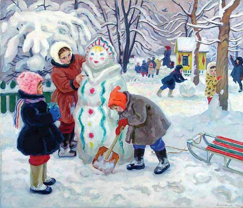 Хохловкина Эльза Давидовна.Снегурка
