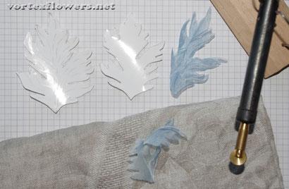 Как сделать астру из ткани, выкройка астры