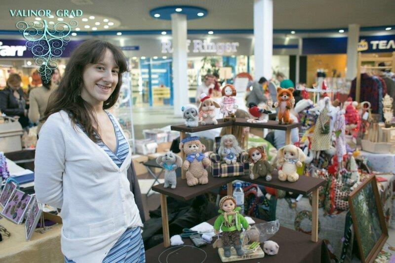 авторские игрушки из шерсти, photo Анны Рыбальченко