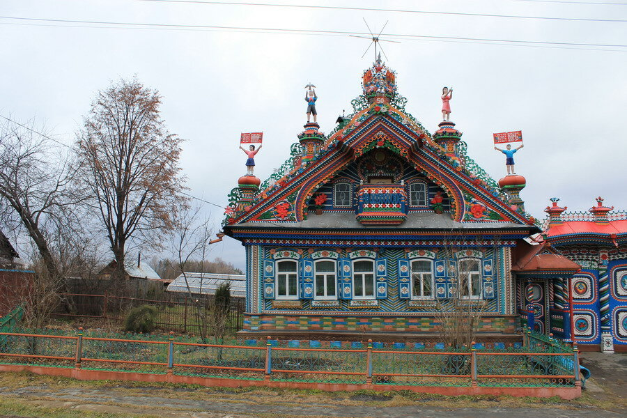Дом кузнеца Кириллова в Кунаре.