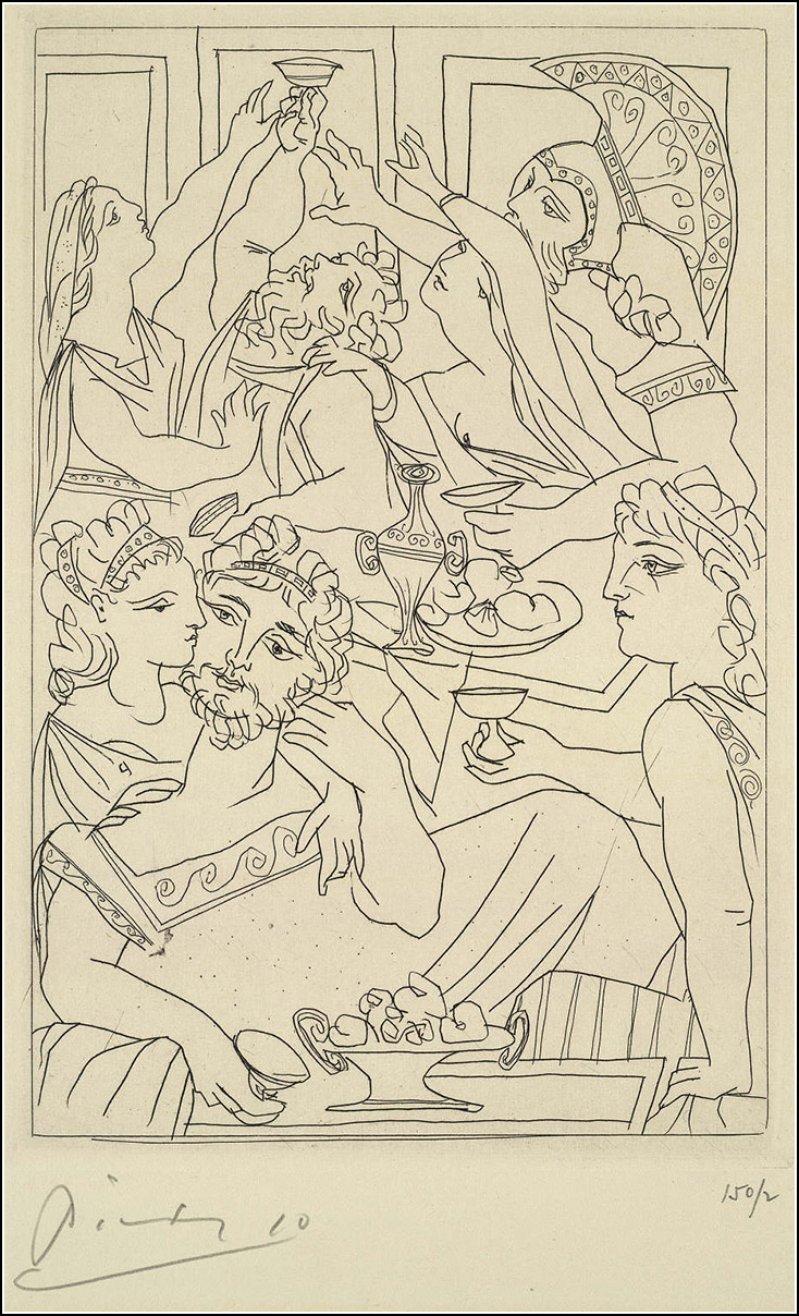 pablo picasso s tender illustrations for aristophanes lysistrata picassol3