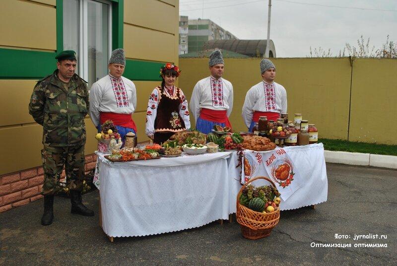день урожая в луганском пограничном отряде октябрь 2013