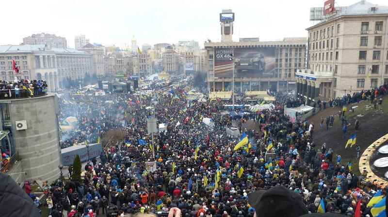EuroMaidan, Kiev, Dec 2013
