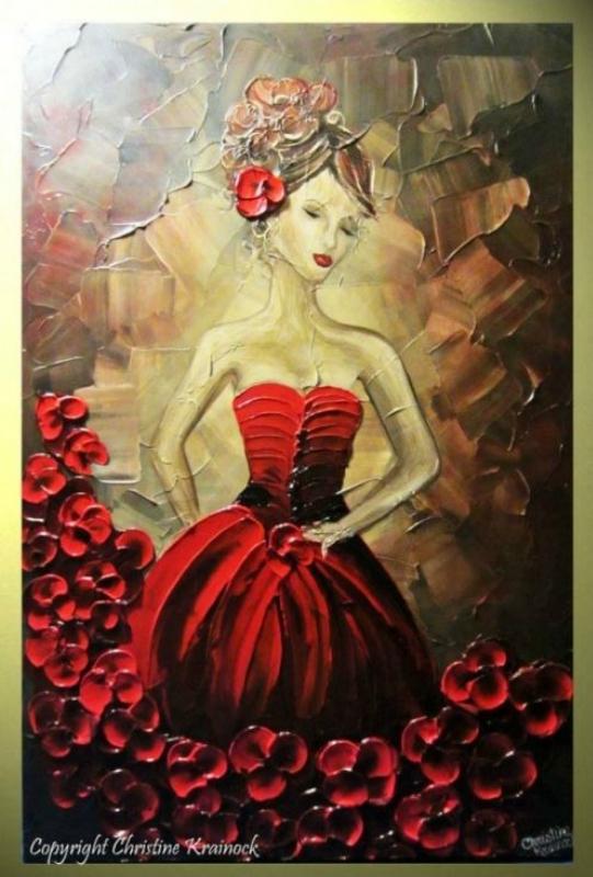 Текстурированные картины Christine Krainock