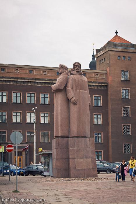 Латвия, Рига, Latvia, Riga, Старый город Риги, Рижские стрелки