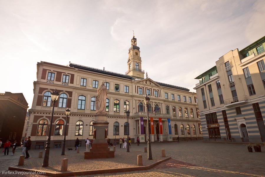 Латвия, Рига, Latvia, Riga, Старый город Риги, Ратуша в Риге