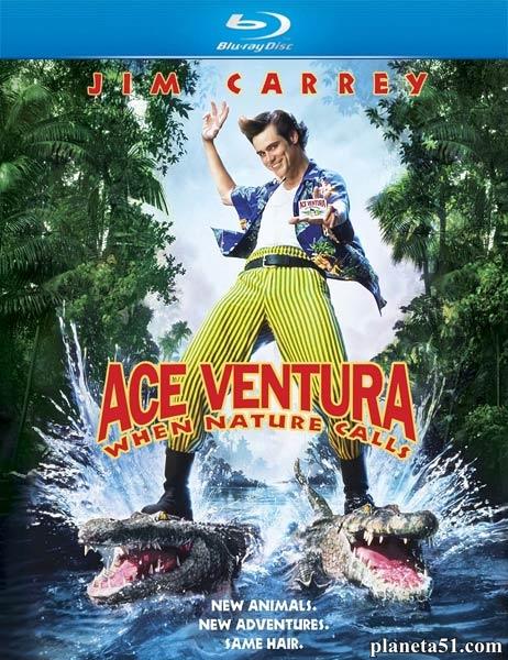 Эйс Вентура 2: Когда зовет природа / Ace Ventura: When Nature Calls (1995/BDRip/HDRip)
