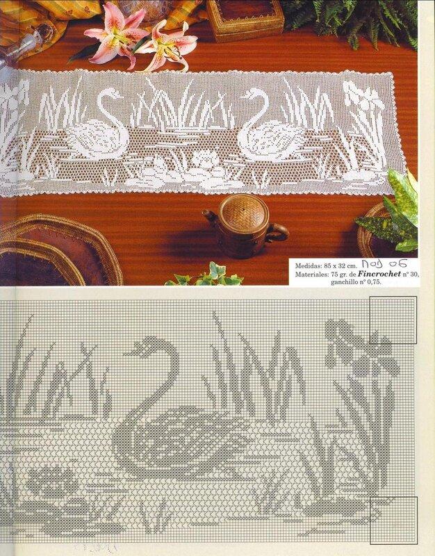 Коллекция филейного вязания для дома. Обсуждение на LiveInternet - Российский Сервис Онлайн-Дневников