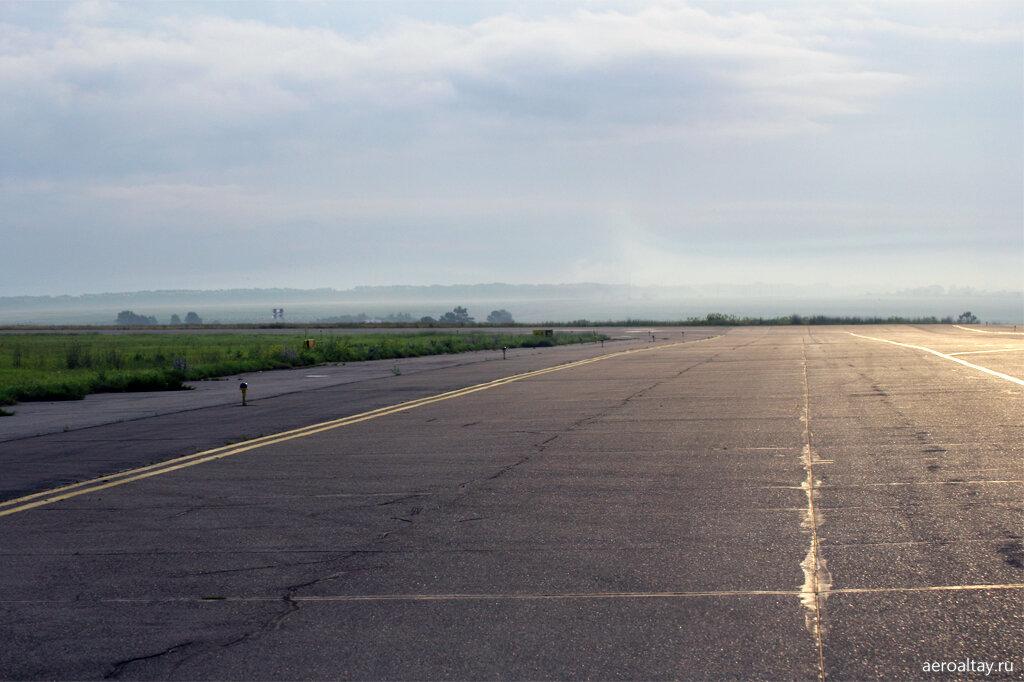 Утро в аэропорту Барнаула
