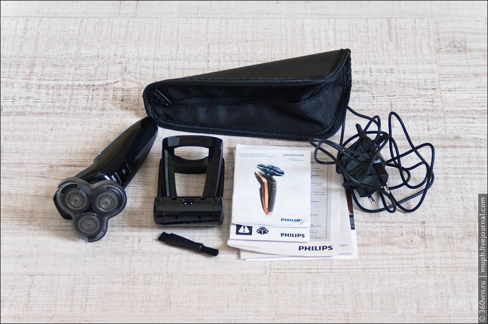 инструкция бритва Philips Sensotouch 3d - фото 4