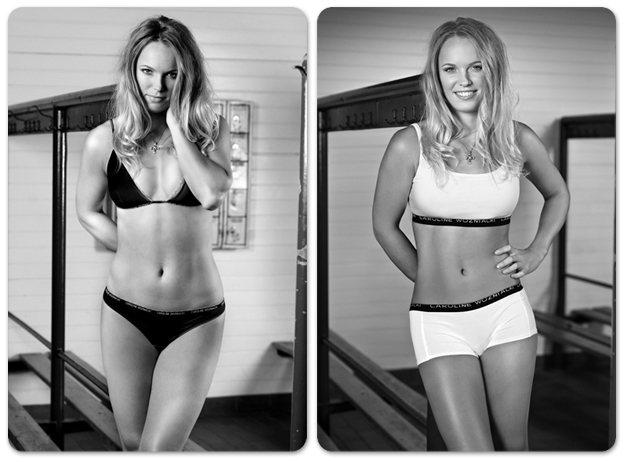 Именное нижнее белье теннисистки Каролин Возняцки / Caroline Wozniacki - This is Me Underwear 2012