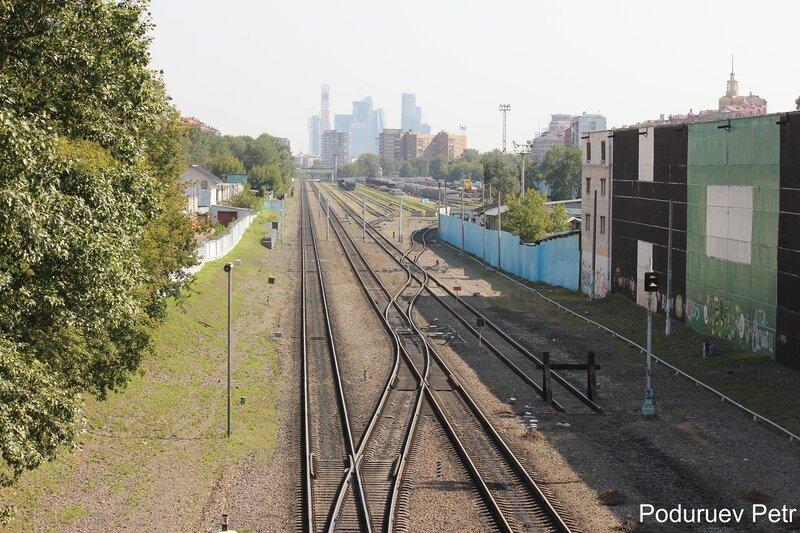 Станция Серебряный бор МОЖД