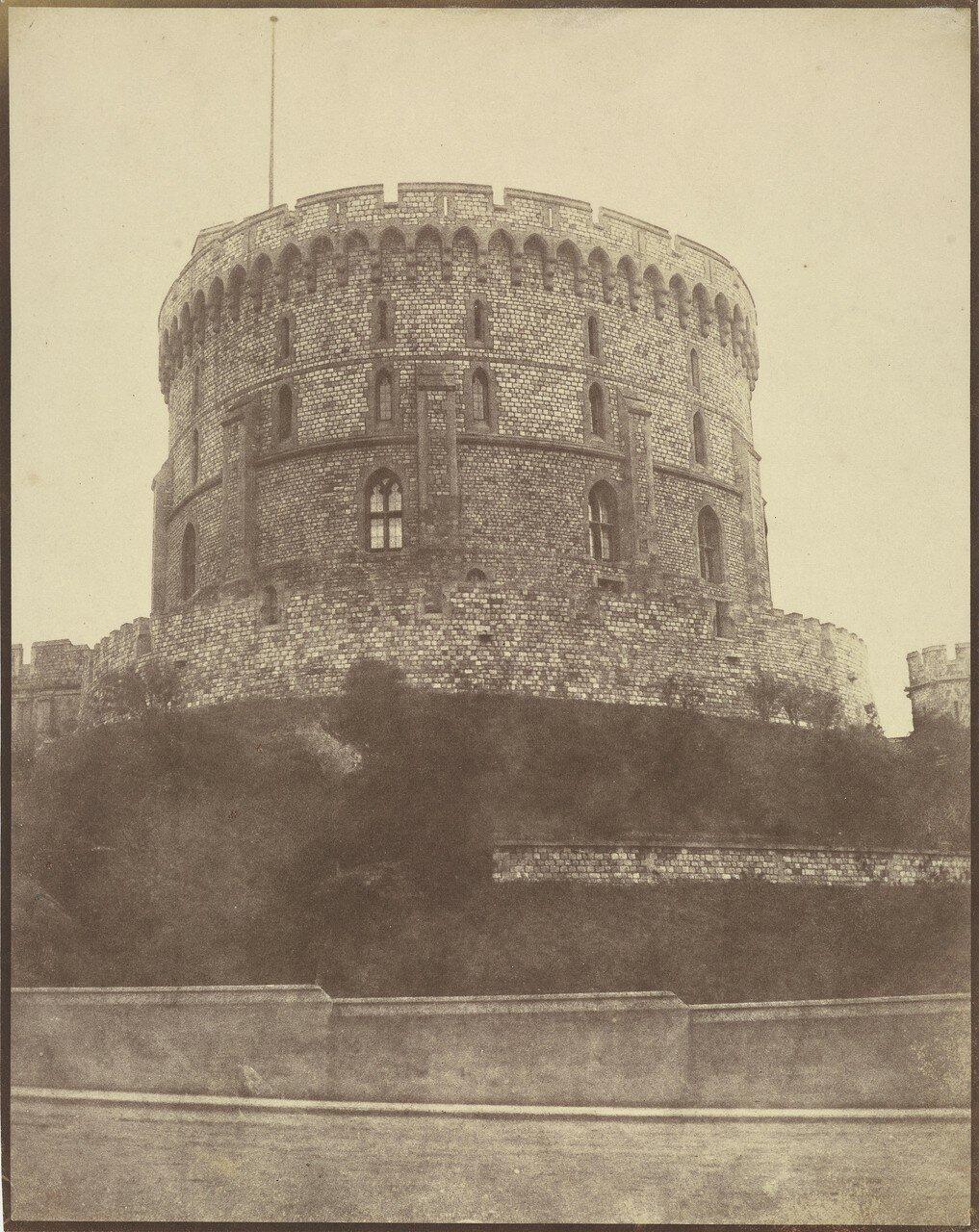 Виндзор, Англия. Круглая башня, Виндзорский замок
