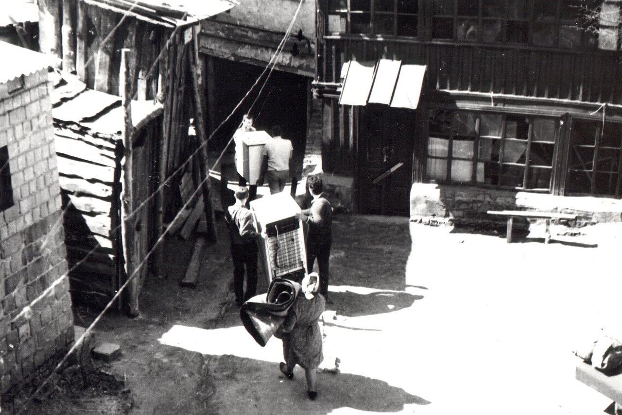 Переезд жителей ул. Гончарной в 1982 году