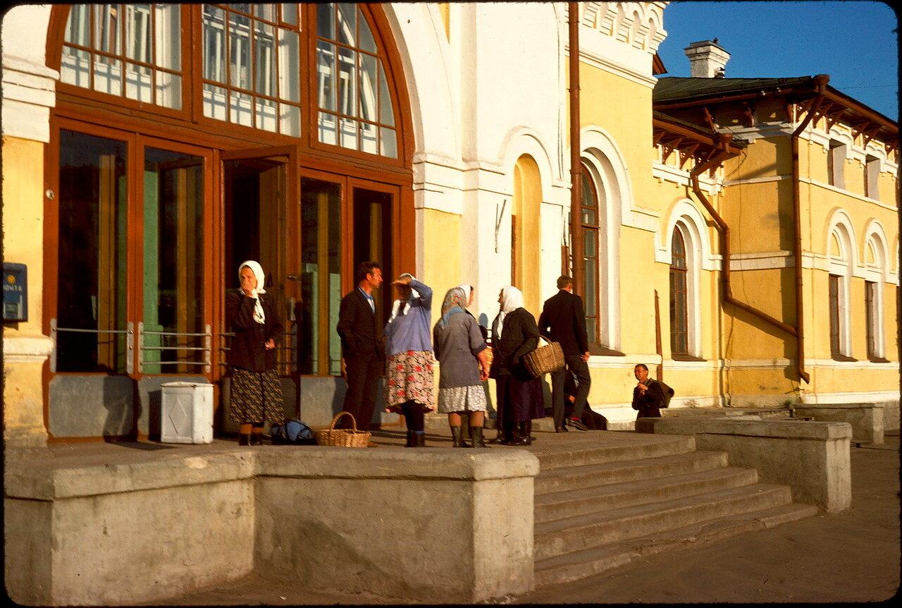 Станция в Костроме