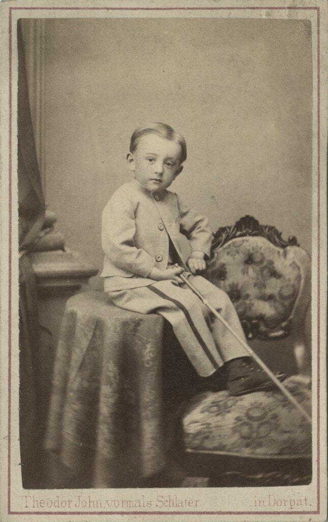 1870. Портрет мальчика