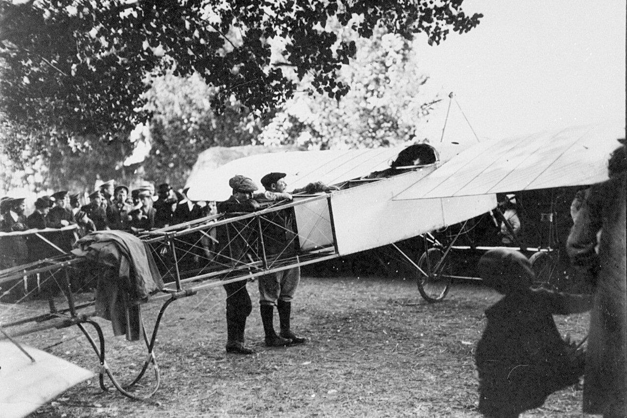 1910. «Блерио», 1-я авианеделя в Санкт-Петербурге