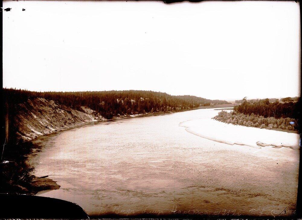 1912. Река Вах близ Ларьяка