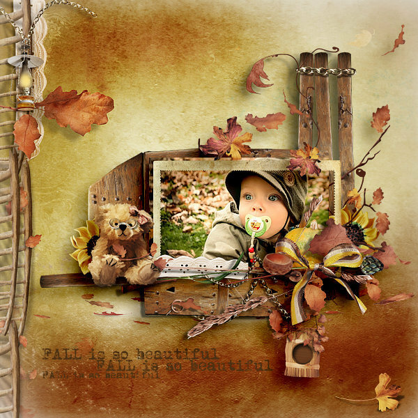Scrap kit When The Leaves Dance