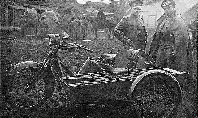 Moto-cart, 1916