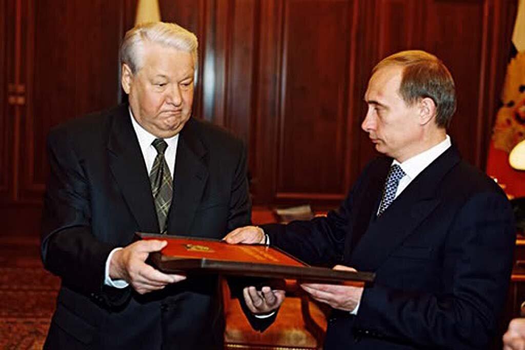 Путин, Ельцин. Президент, Конституция