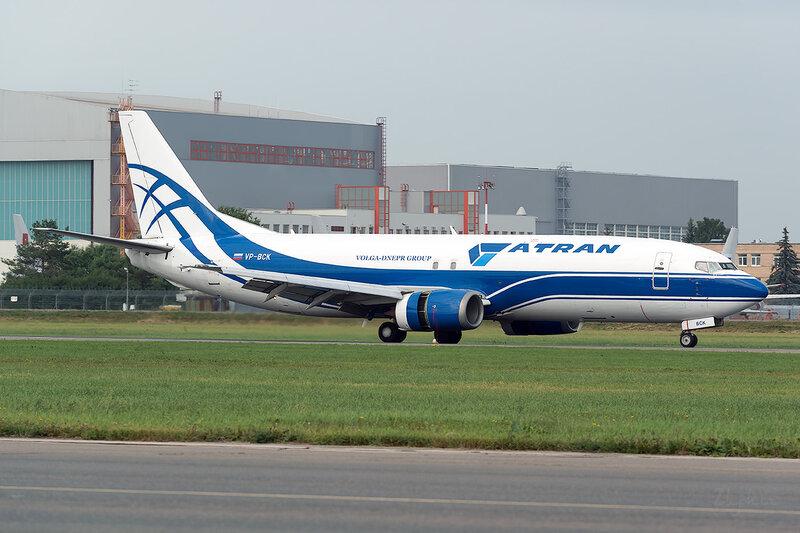 Boeing 737-46Q(SF) (VP-BCK) Атран D801346
