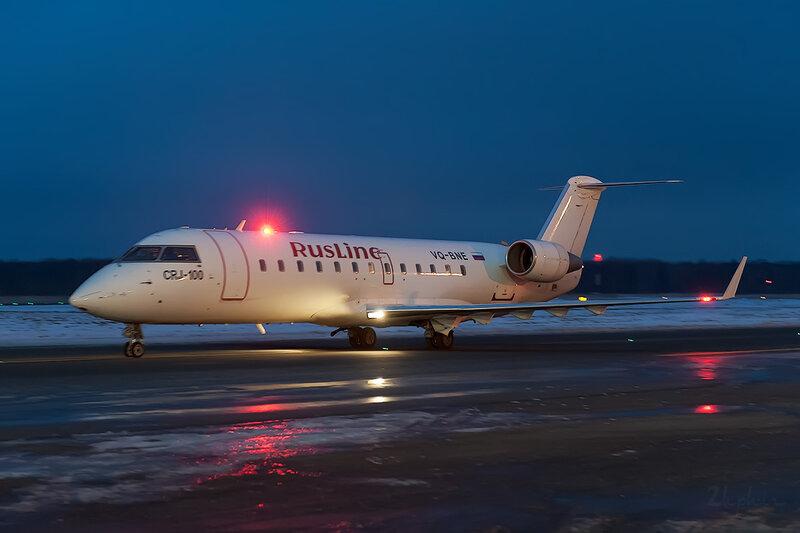 Bombardier CRJ-100ER (VQ-BNE) РусЛайн D707837