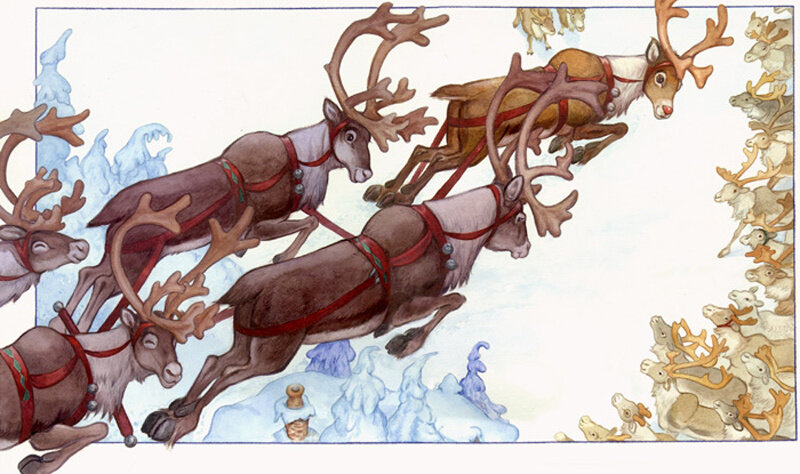 the reindeer and the engine Agreement.