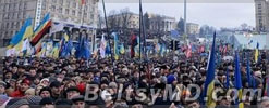 На Майдане Незалежности собрались более 10 тысяч человек