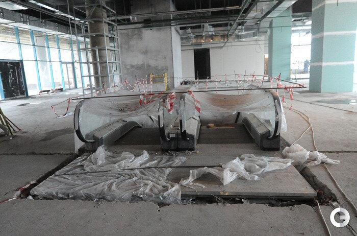 100 дней до завершения строительства стадиона «Спартака» - «Открытие Арены» (Фото)