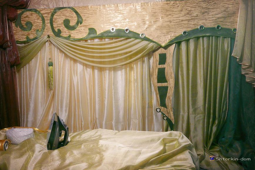 Карнизы для штор. пошив штор и ламбрекенов от швейной мастерской Shtorkin-Dom в Славянске.