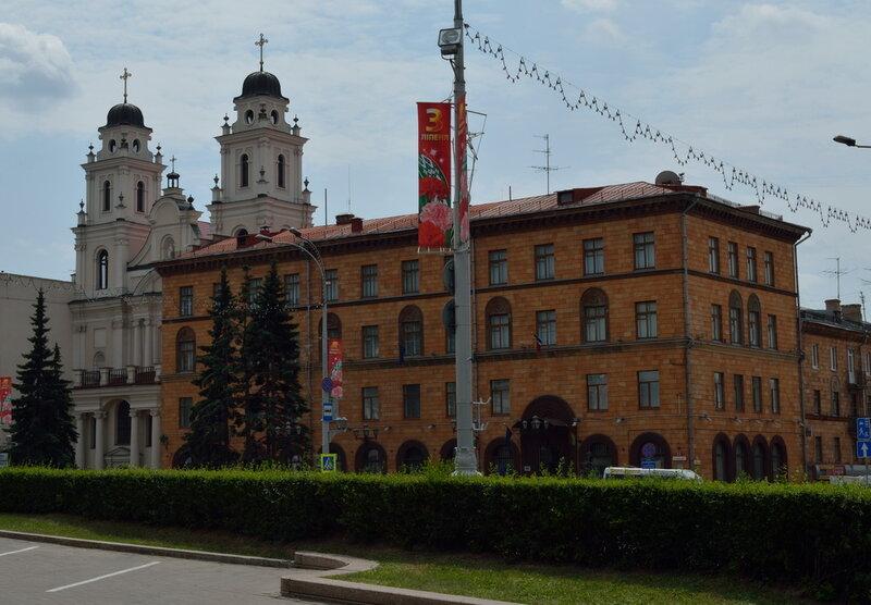 Минск, Беларусь, прогулка