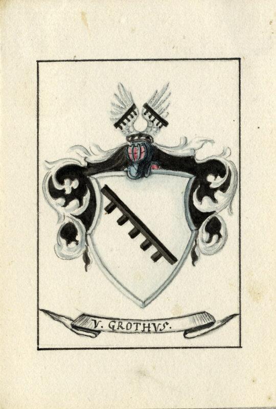 Герб рода фон Гротхус