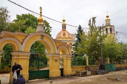 Храм Всех Святых во Всехсвятском, Москва