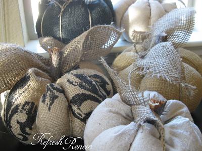 Винтажные тыквы из ткани своими руками: легко и быстро!