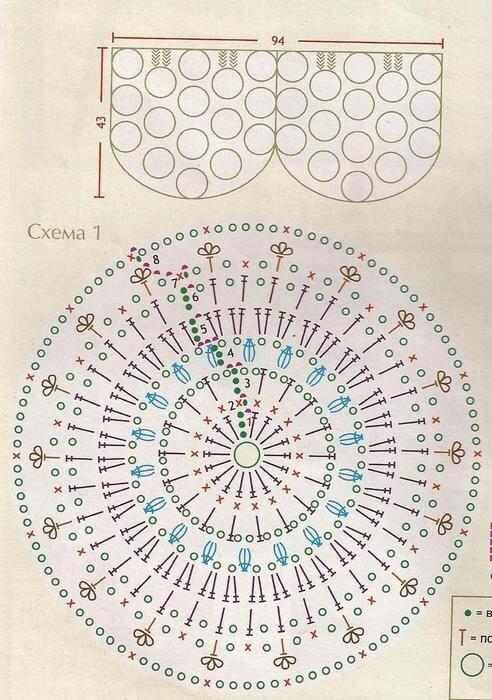 Подиум вязание 2017 схемы