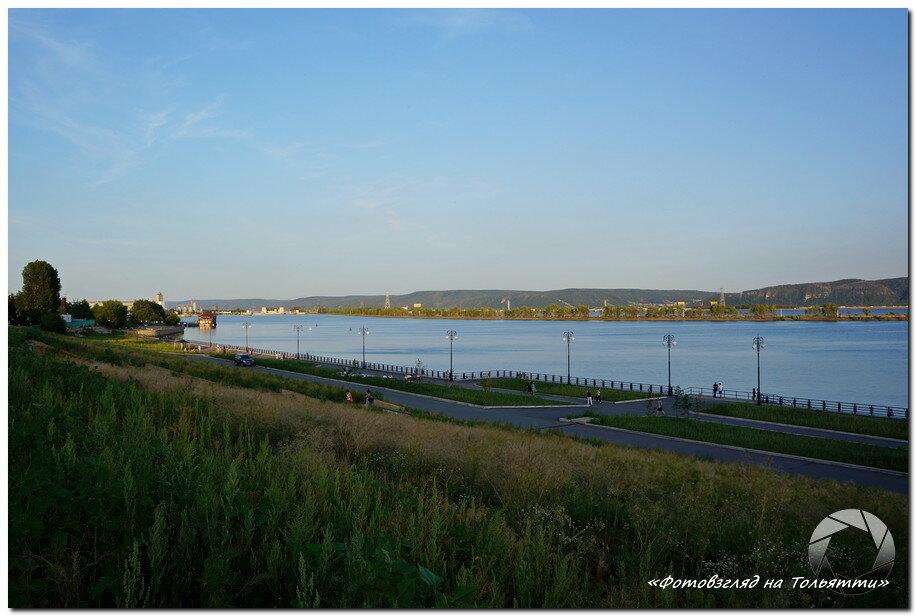 Новая набережная Комсомольского района