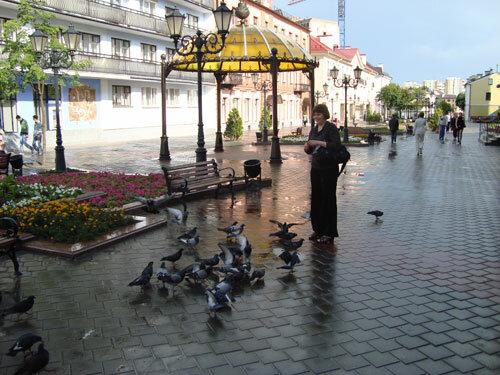 Отдых в Беларуссии: Брест, ул. Советская