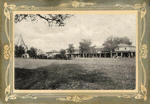 Вид Базарной площади около часовни