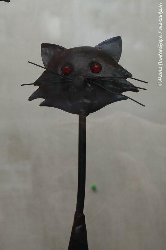Кошки-лампа, Саратов, 17 июля 2013 года