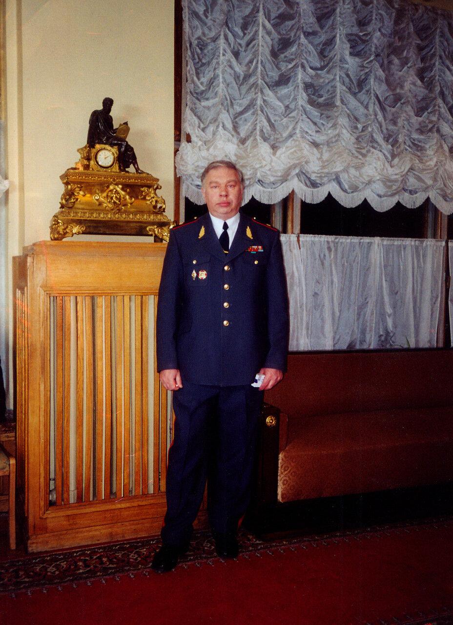 Лауреат премии КГБ Андрей Мартынов
