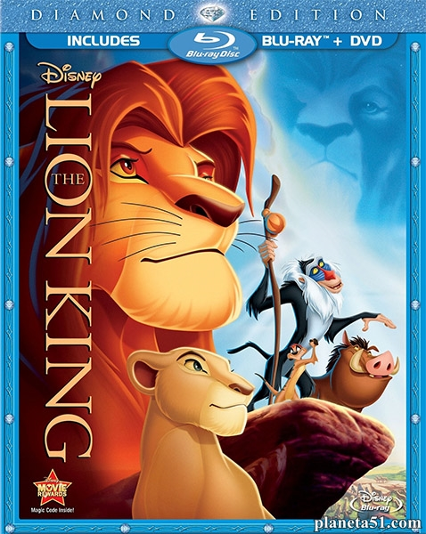 Король Лев / The Lion King (1994/HDRip) + 3D