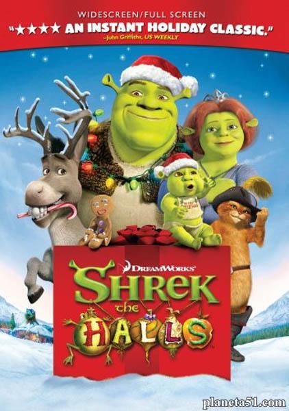 Шрек мороз, зеленый нос / Shrek the Halls (2007/HDTVRip)