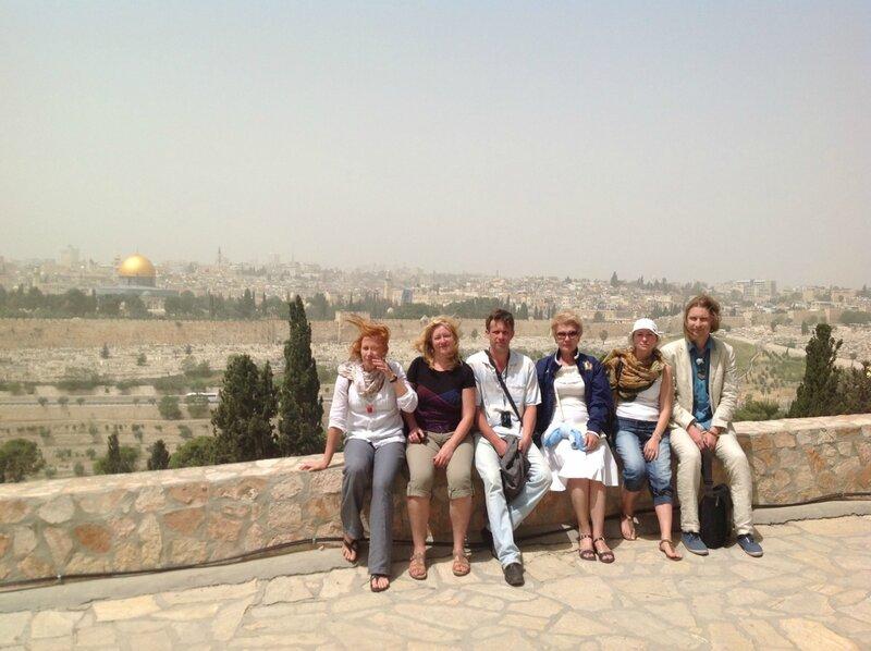 День шестой. Масличная гора. Иерусалим. Израиль. 2013.