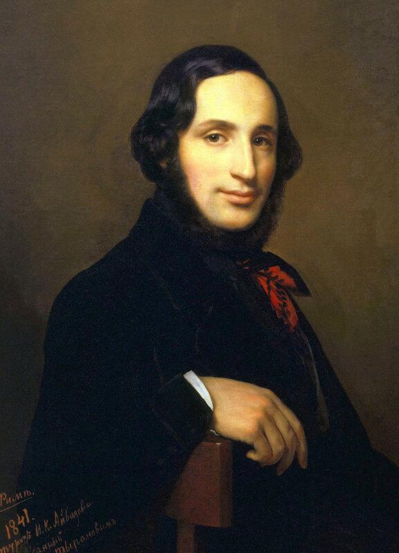 Портрет И. Айвазовского работы А. Тыранова (1841)..jpg