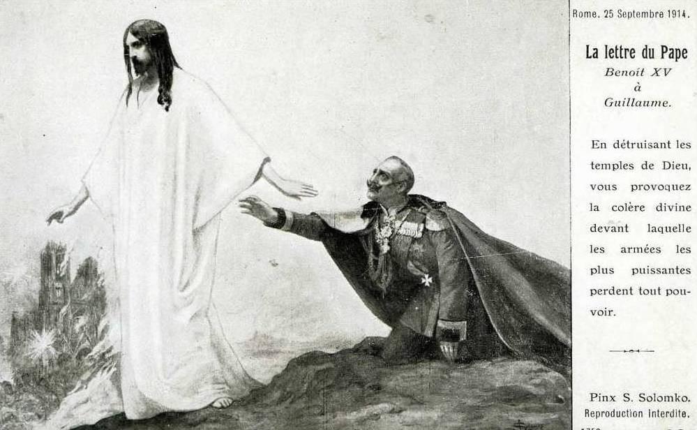 Соломко Сергей, Письмо Папы римского Вильгельму, 1914 г.