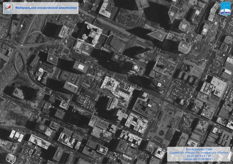 Российский спутник ДЗЗ передал на Землю первые снимки США